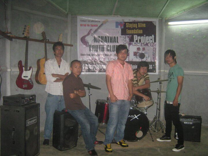 Mizo Rock Band Hard Ray