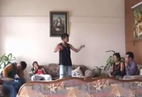 Mizo RD and The 3 Rappers Chun leh Zua Scene