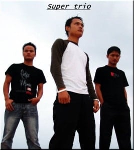 super trio mizo album cover