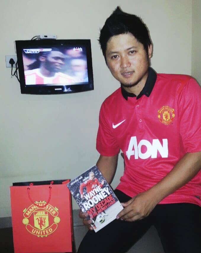 Robert Lalduhzuala Manchester United