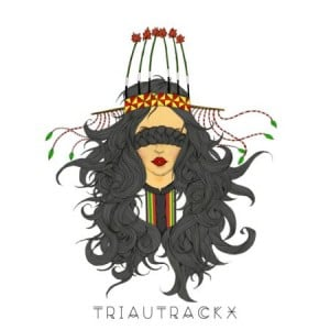 Triau Trackx Album Logo I tello in chords