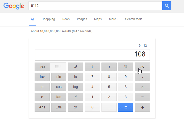 Google Hman Dan Calculator