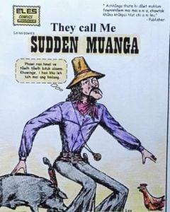 sudden muanga mizo comics